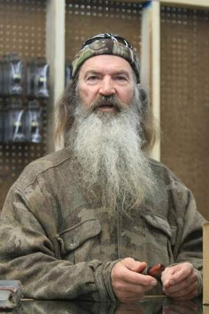 Phil Robertson, one of the major characters on the popular A & E